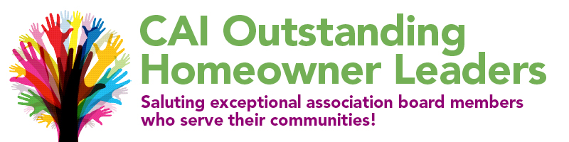 CAI Outstanding Homeowner Leader