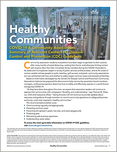 Healthy Communities cover image of a porch